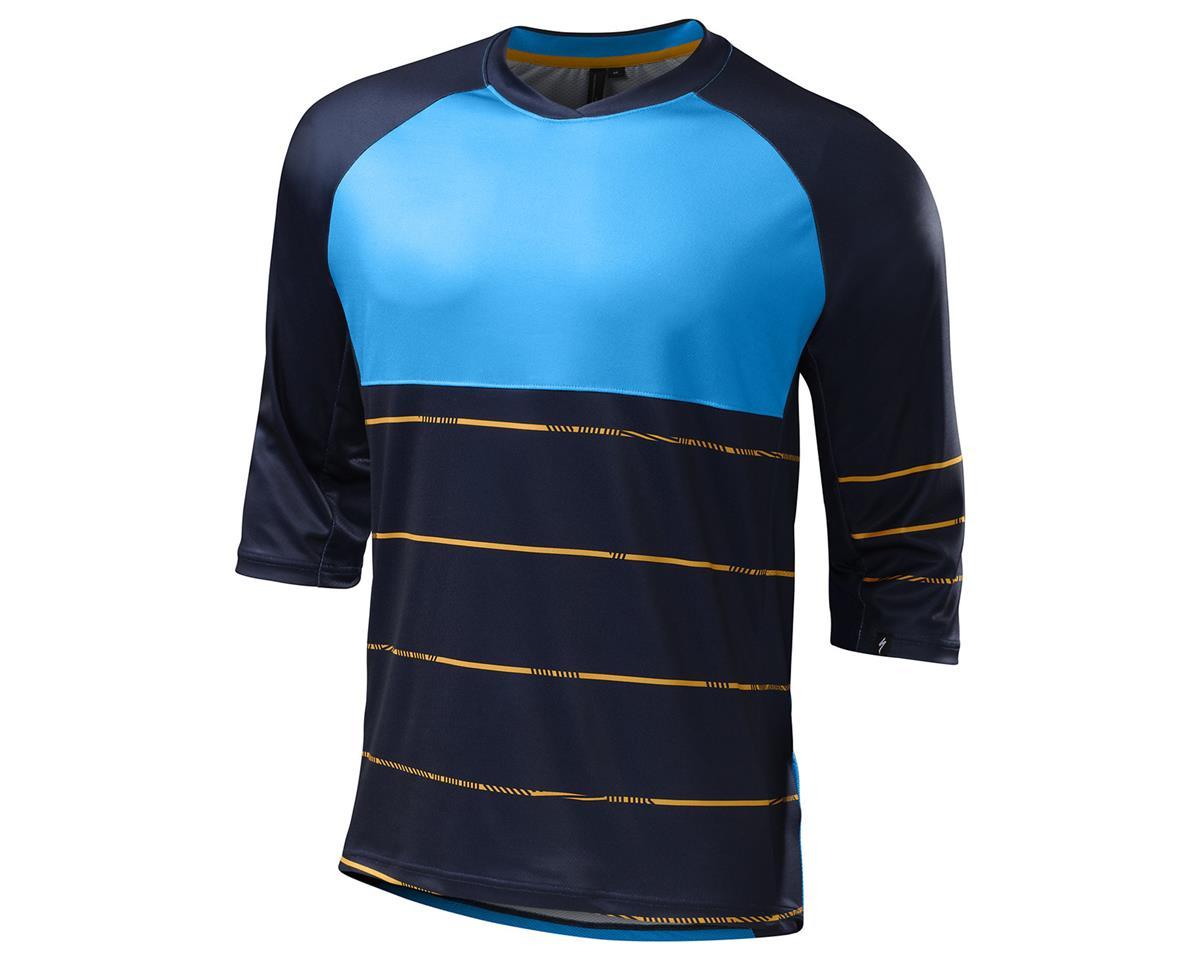 Specialized 2016 Enduro Comp 3/4 Sleeve Jersey (Navy/Gallardo Orange)