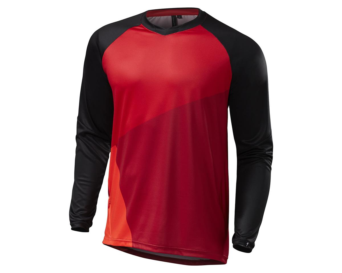 Specialized 2016 Demo Pro Long Sleeve Jersey (Red/Black)