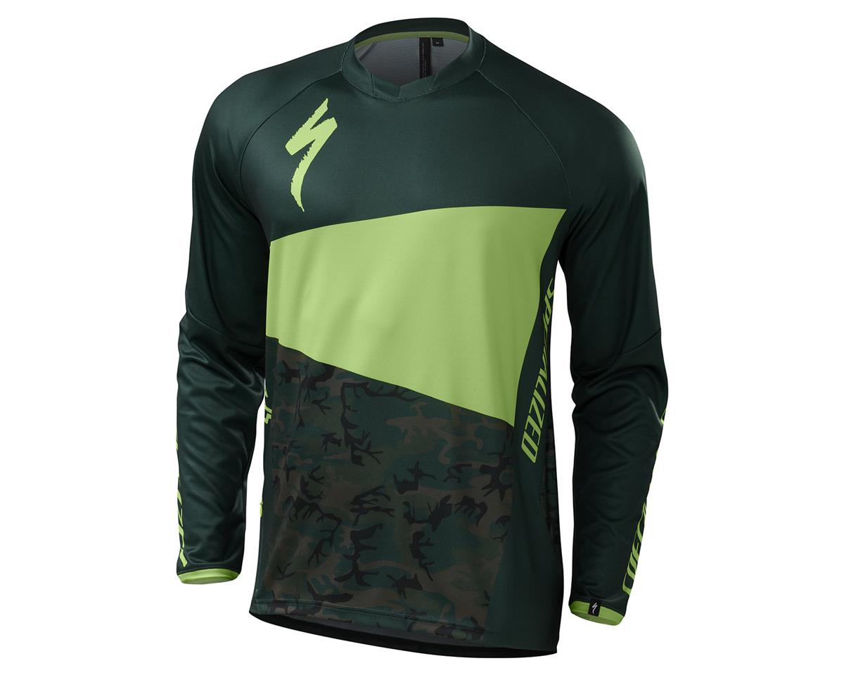 Specialized 2016 Demo Pro Long Sleeve Jersey (Monster Green/Camo)