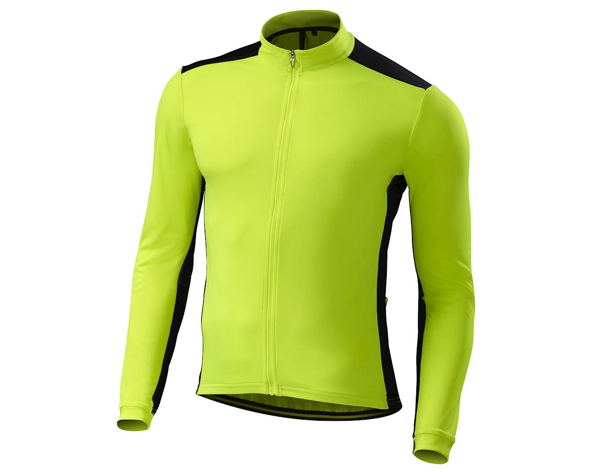 Specialized RBX Sport Long Sleeve Jersey (Neon Yellow/Black)