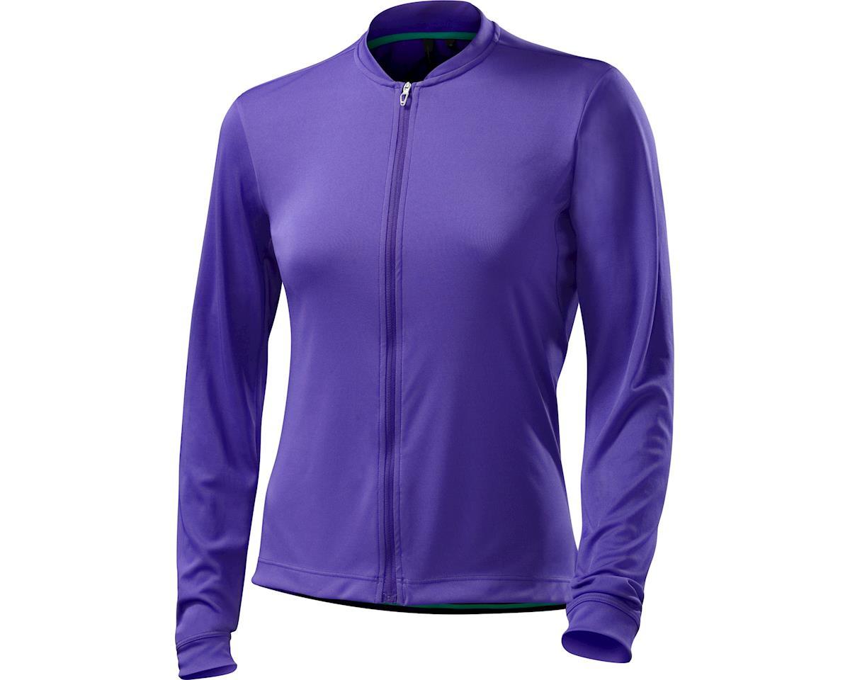Specialized Women's RBX Sport Long Sleeve Jersey (Indigo/Emerald Green) (XS)