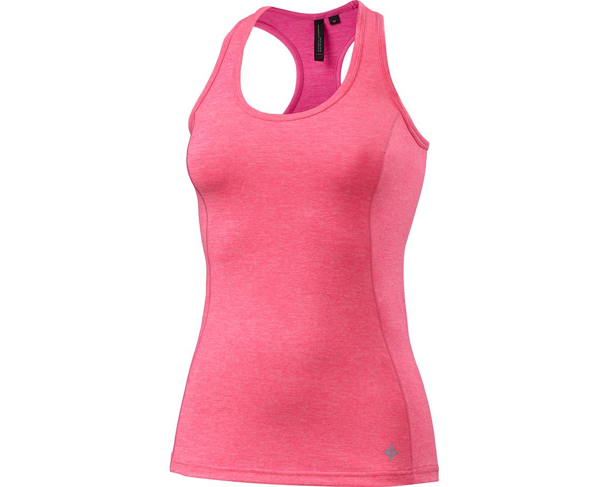 Specialized Shasta Tank Top (Neon Pink Heather)