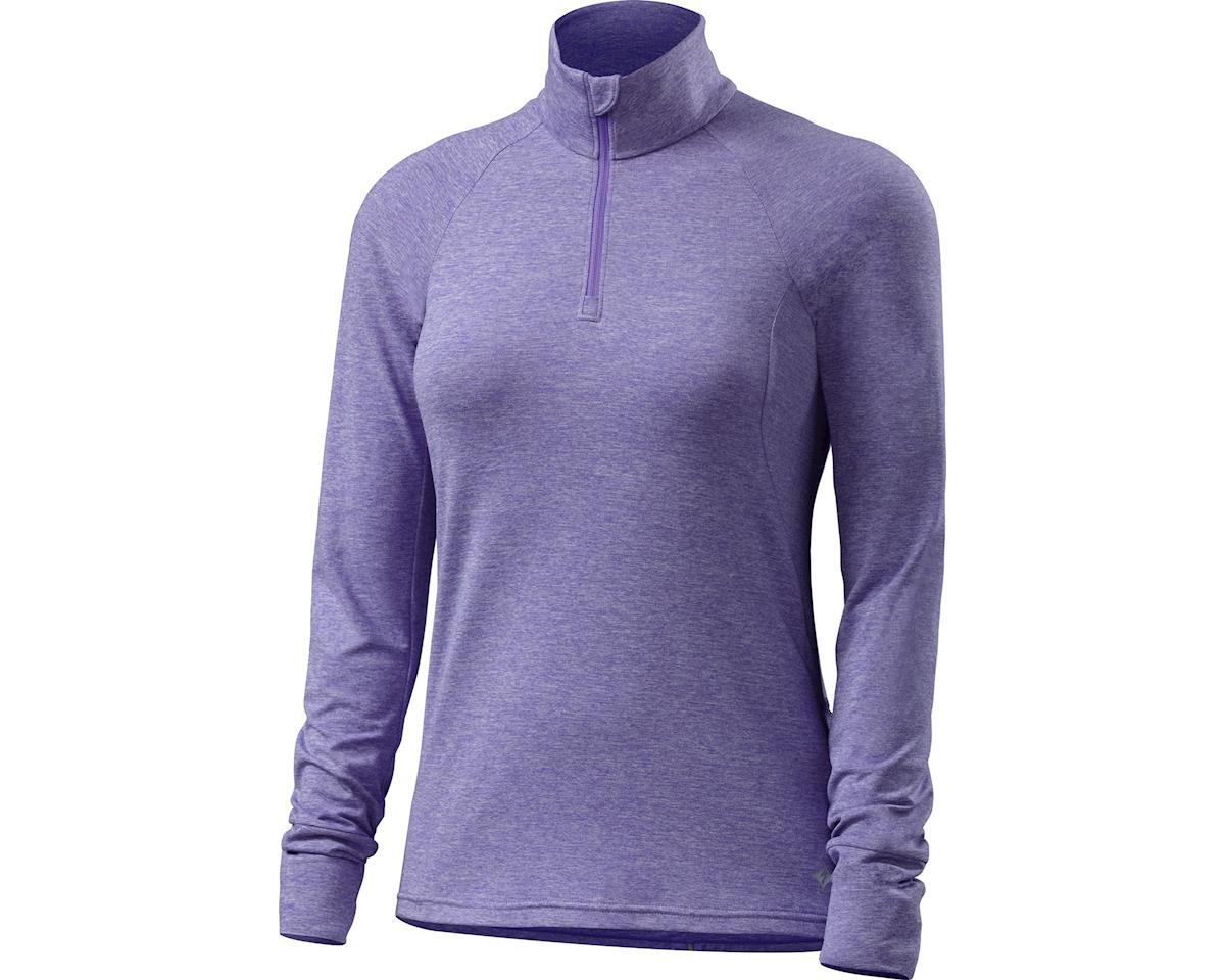 Specialized Shasta Long Sleeve Top (Light Indigo Heather) (XXS)