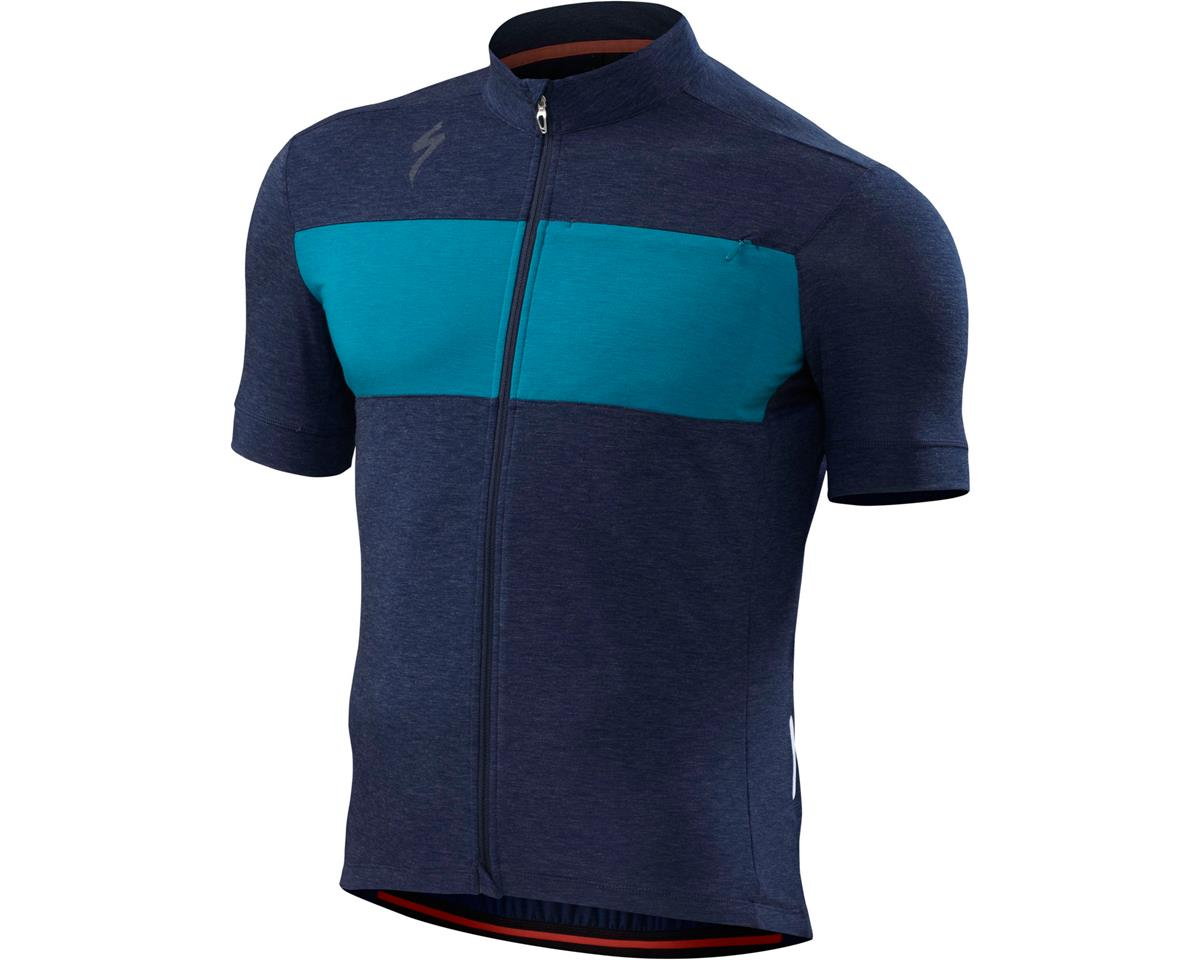 Specialized RBX drirelease Merino Jersey (Navy Heather) (Large)