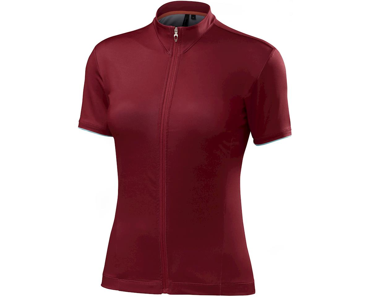 Specialized Women's RBX Comp Jersey (Burgundy)