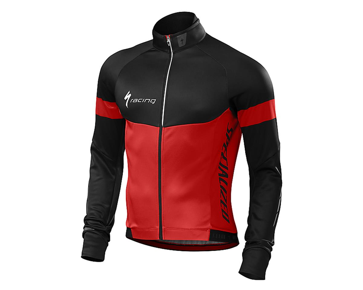 Specialized Therminal Long Sleeve Jersey (Red/Black Team)