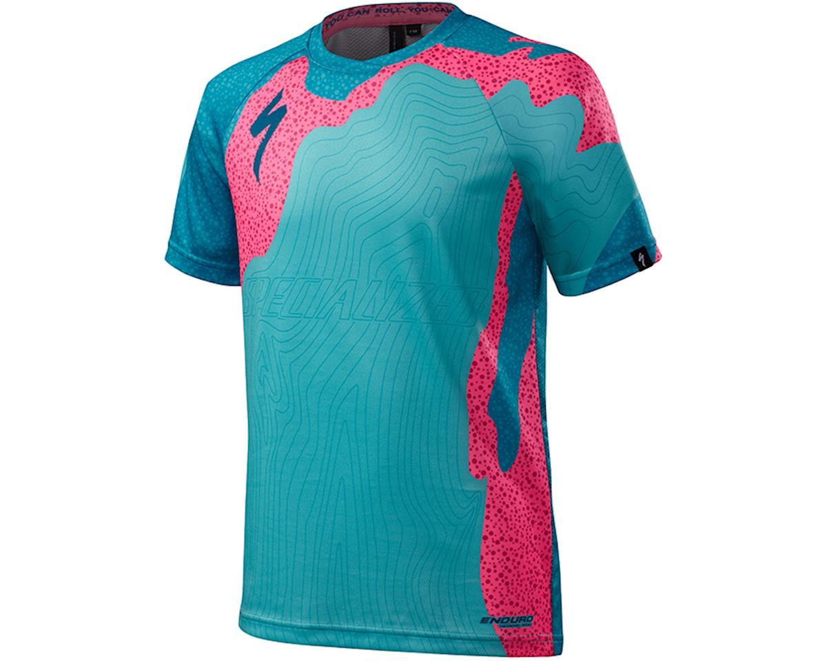 Specialized Enduro Grom Youth 3/4 Jersey (Turquoise Virus)