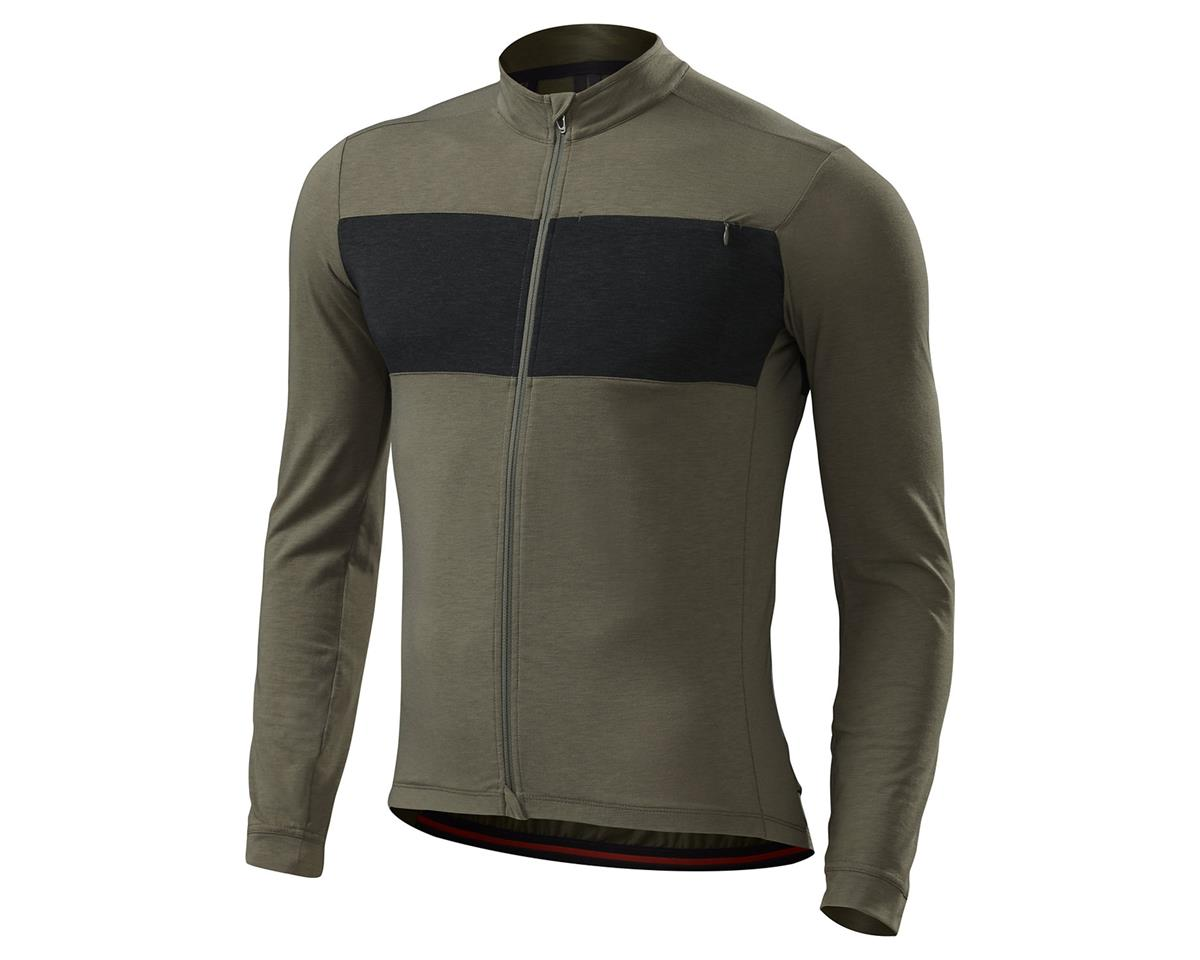 Specialized 2016 RBX DriRelease Merino Long Sleeve Jersey (Oak Green)