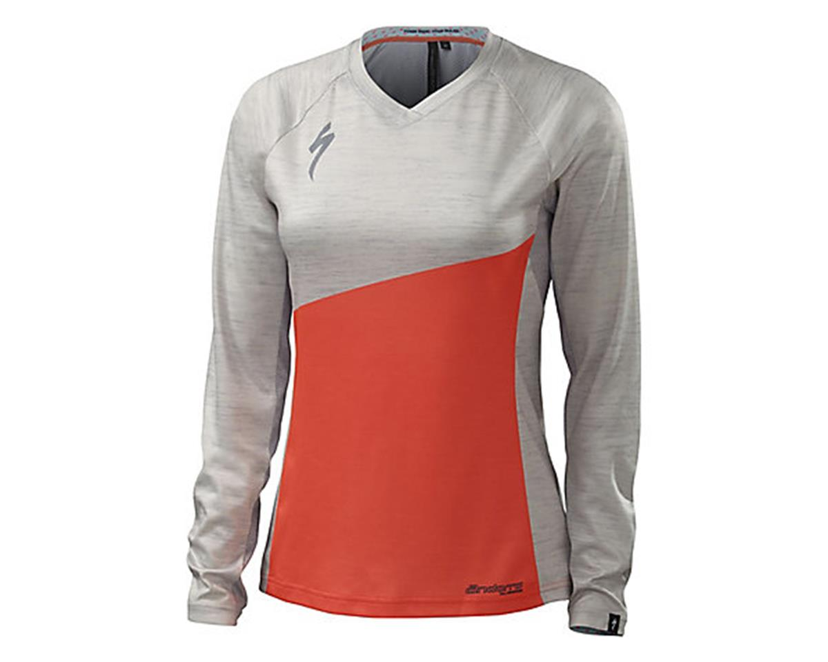 Specialized Andorra Comp Long Sleeve Women's Jersey (Neon Coral)