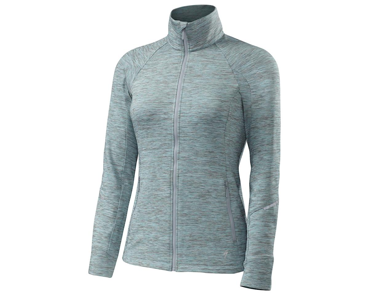 Specialized Shasta Women's Track Jacket (Turquoise Heather)