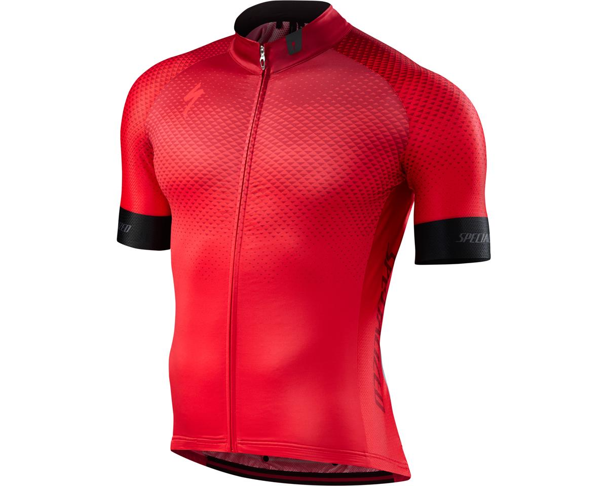 Specialized SL Pro Jersey (RF Matrix/Team Red) (Large/Tall)