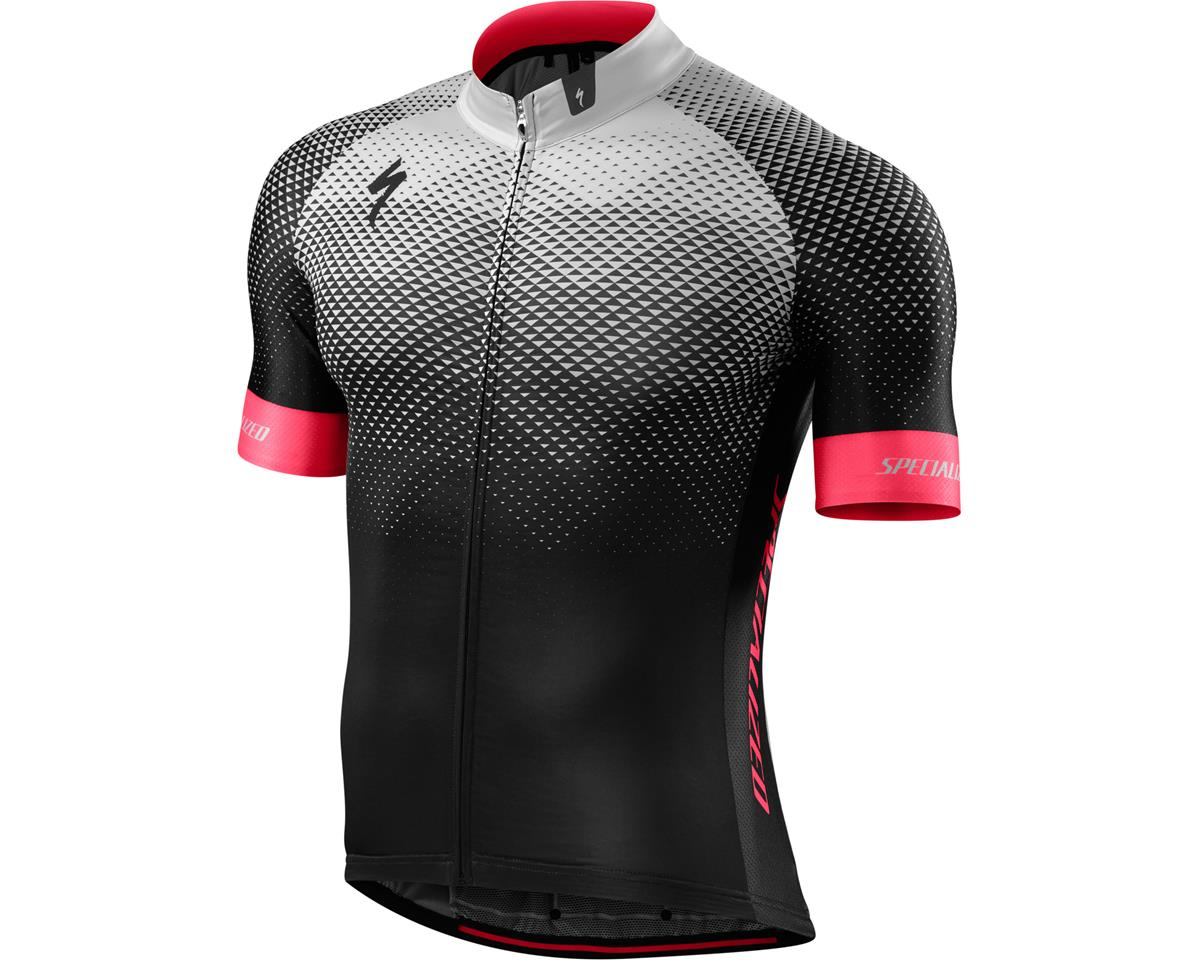 Specialized SL Pro Jersey (RF Matrix/Team Black Stone) (Small/Tall)