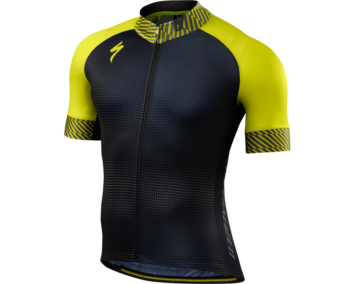 Specialized SL Expert Jersey (Dot Fade/Limon) (Small/Tall)