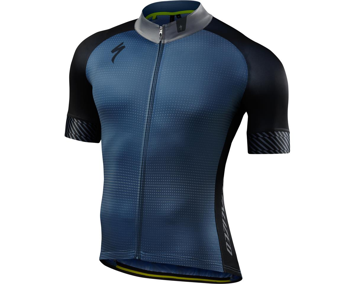 Specialized SL Expert Jersey (Dot Fade/Dust Blue) (Large/Tall)