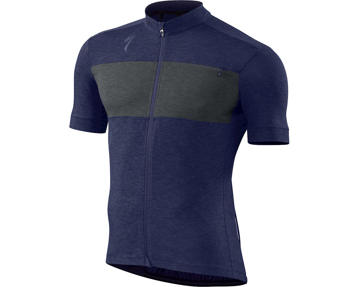 Specialized RBX drirelease Merino Jersey (Deep Indigo/Carbon Heather) (2XL)