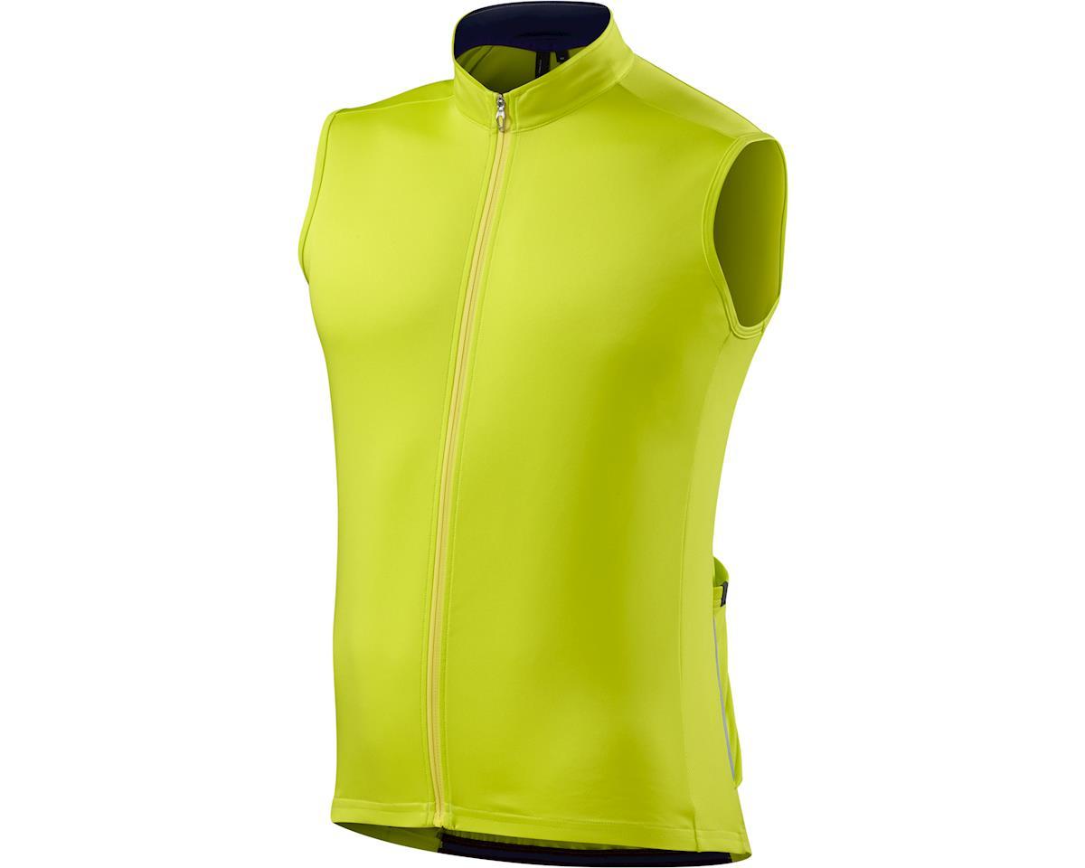 Specialized RBX Sport Sleeveless Jersey (Limon/Navy) (2XL)
