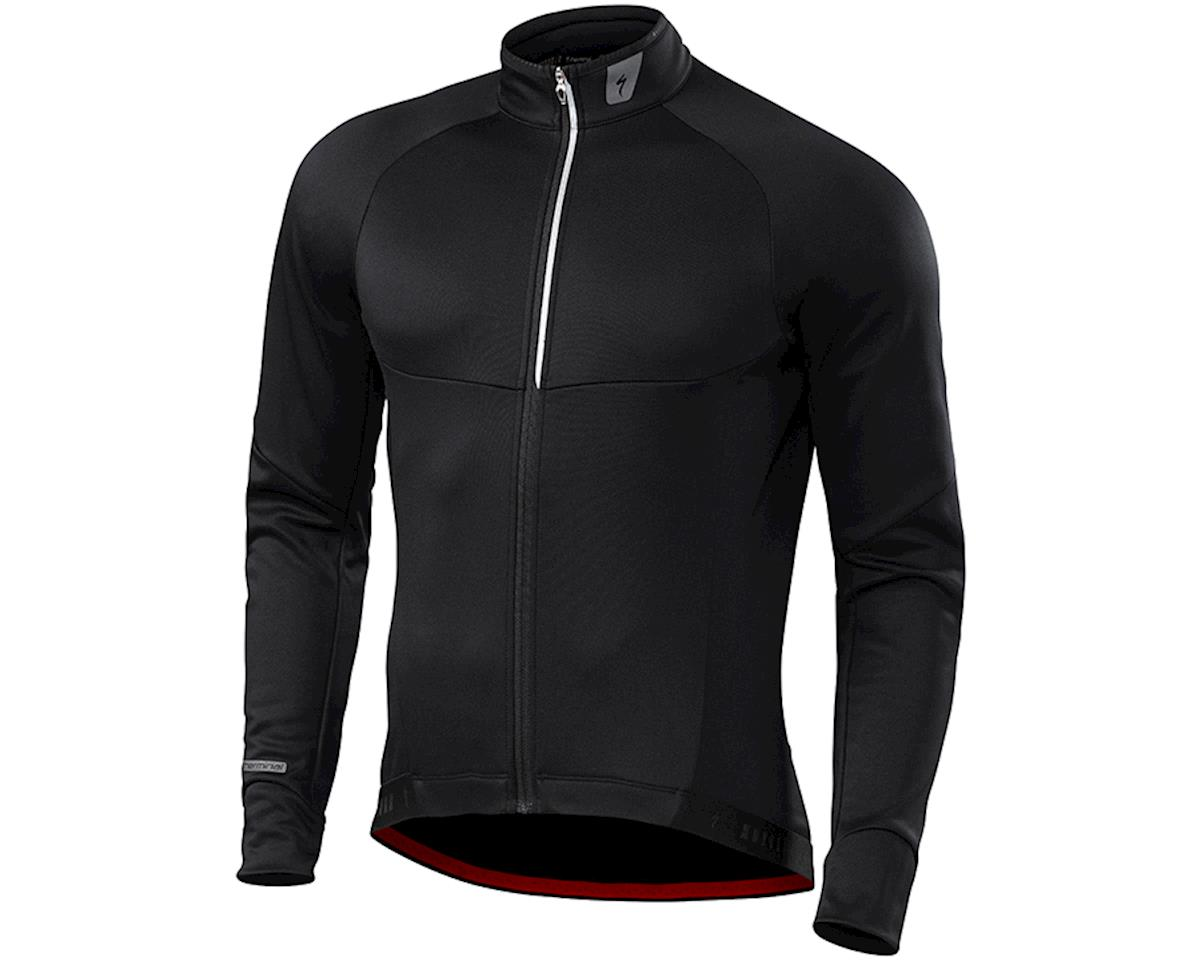 Specialized Therminal Long Sleeve Jersey (Black) (2XL)