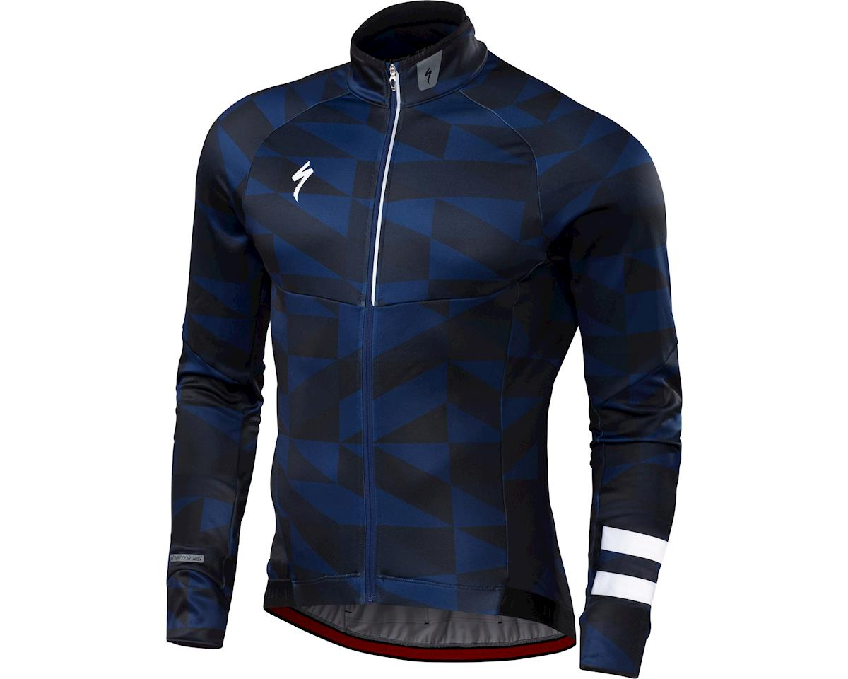 76a00df69 Specialized Therminal Long Sleeve Jersey (Navy Team) (L). Check Store  Availability. Specialized. 64118-7224