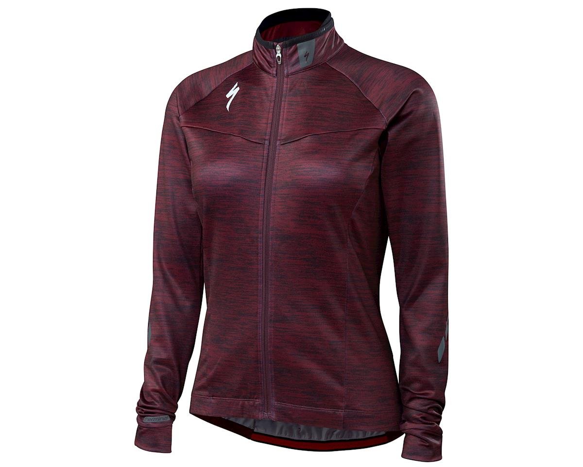 Specialized 2018 Therminal Women's Long Sleeve Jersey (Black Ruby)