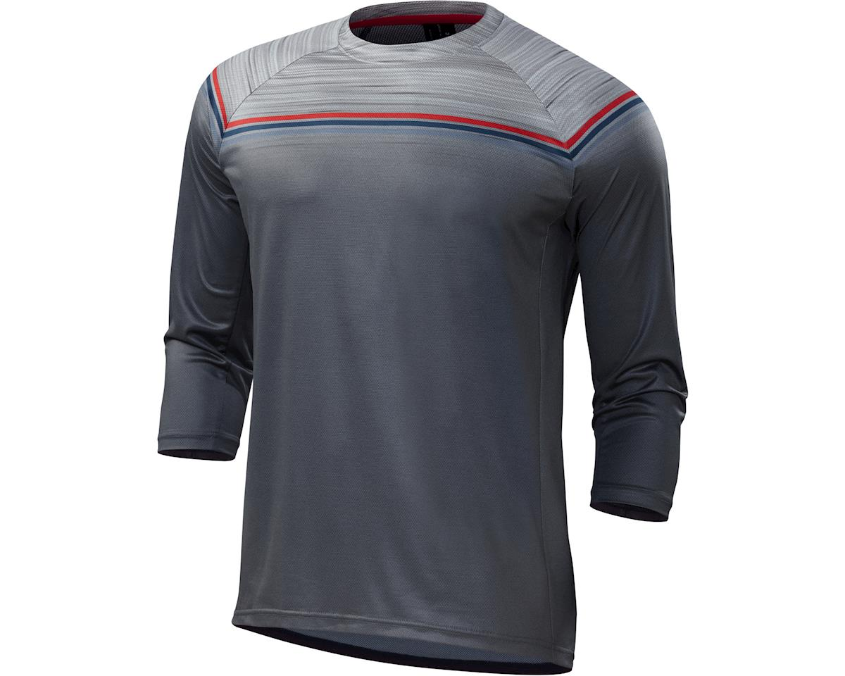 Specialized Enduro Comp 3/4 Jersey (Grey/Red) (2XL)