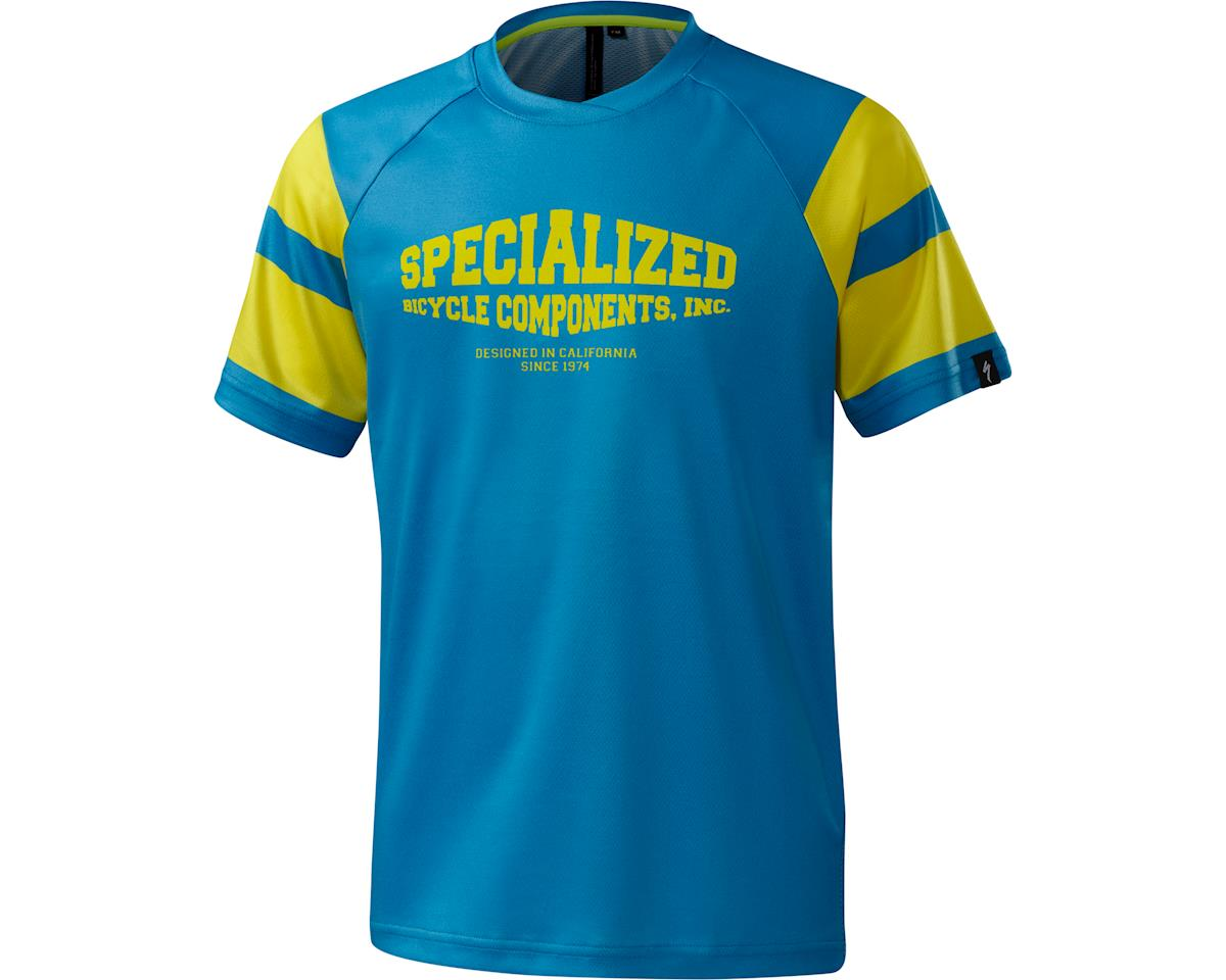 Specialized Enduro Grom 3/4 Youth Jersey (Neon Blue)