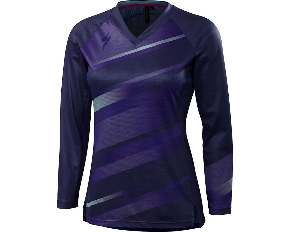 Specialized Andorra Women's Long Sleeve MTB Jersey (Deep Indigo)