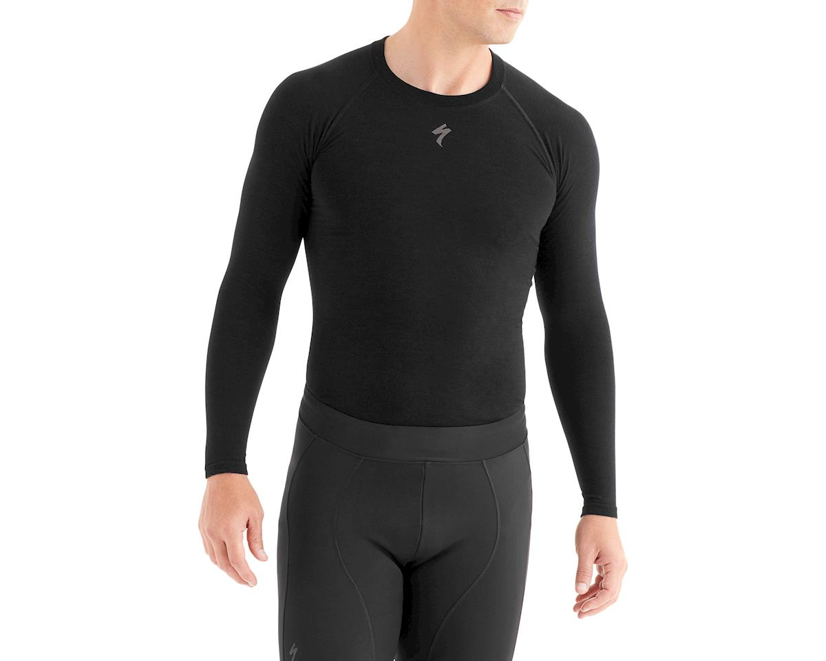Specialized Seamless Merino Long Sleeve Base Layer (Black)