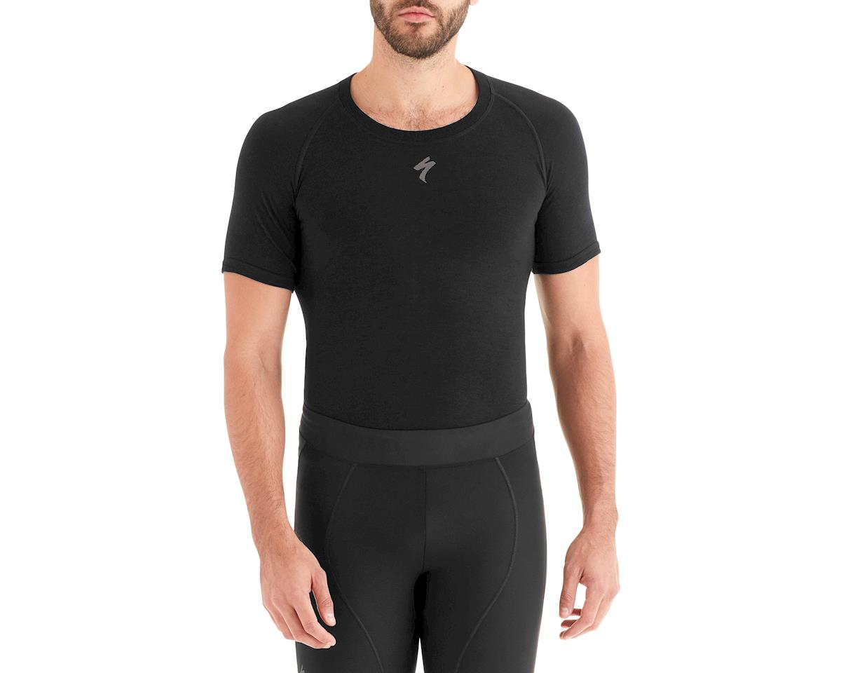 Specialized Seamless Merino Short Sleeve Base Layer (Black)