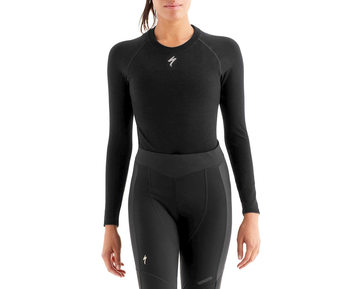 Specialized Women's Seamless Merino Long Sleeve Base Layer (Black)