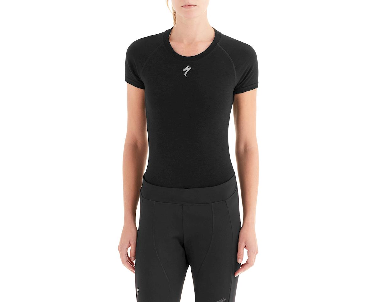 Specialized Women's Seamless Merino Short Sleeve Base Layer (Black)