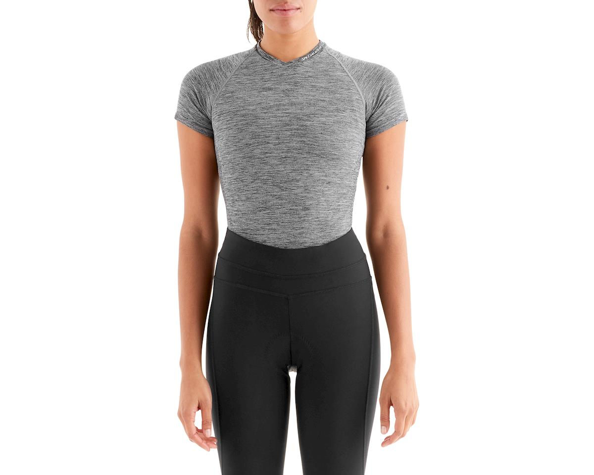 Specialized Women's Seamless Short Sleeve Base Layer (Heather Grey)