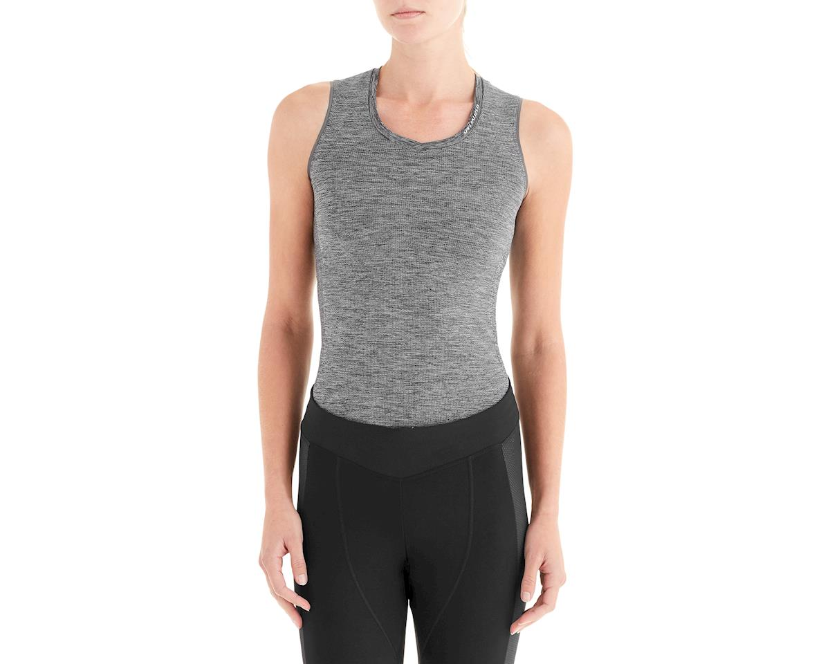Specialized Women's Seamless Sleeveless Base Layer (Heather Grey)