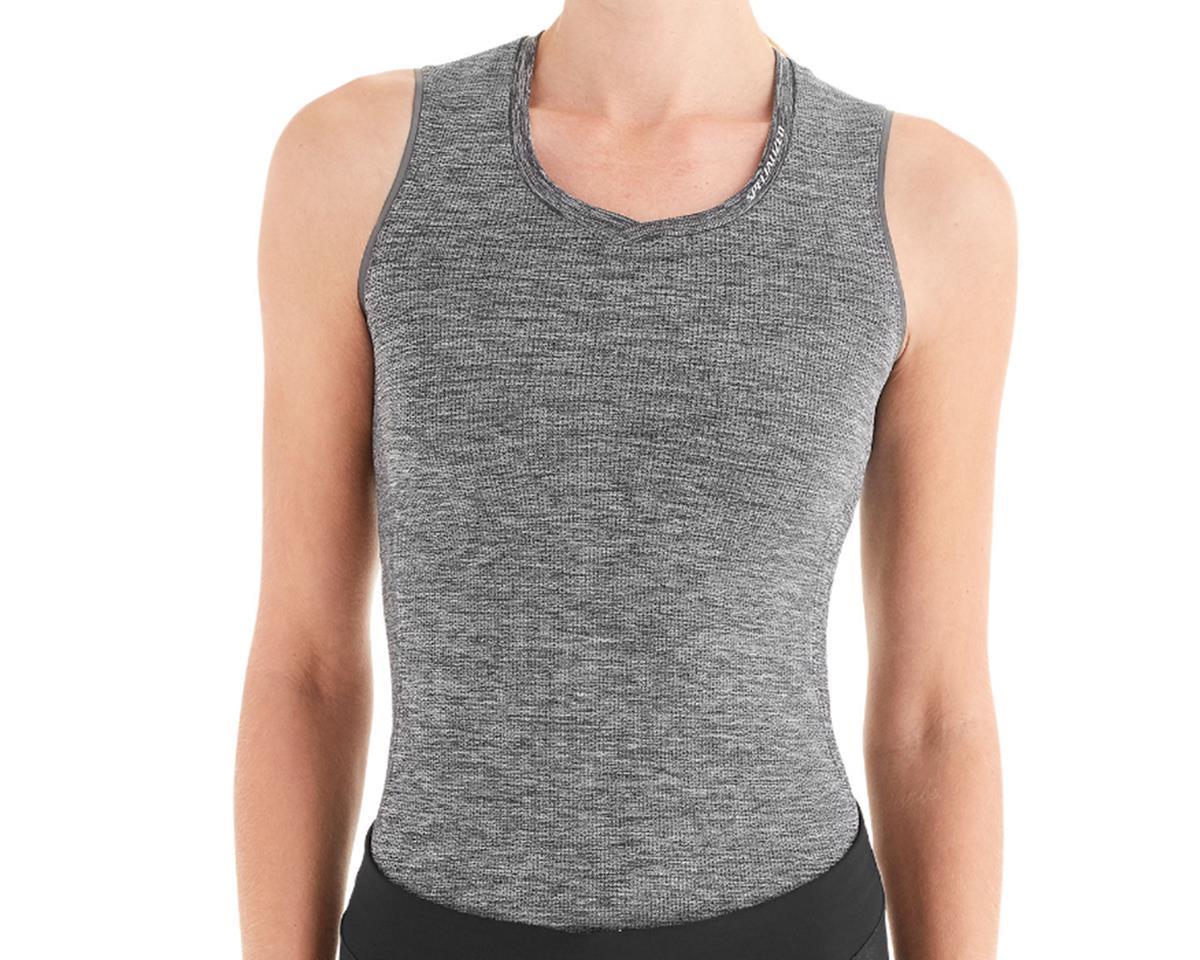 Specialized Women's Seamless Sleeveless Base Layer (Heather Grey) (M)