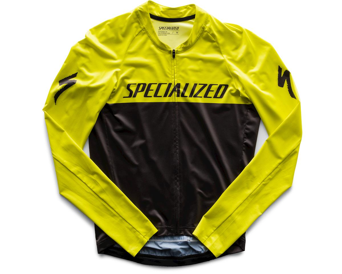 Specialized SL Air Long Sleeve Jersey (Charcoal/IonTeam) (XL)