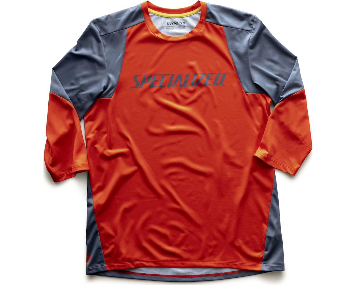 Specialized Enduro 3/4 Jersey (Rocket Red/Storm Grey)