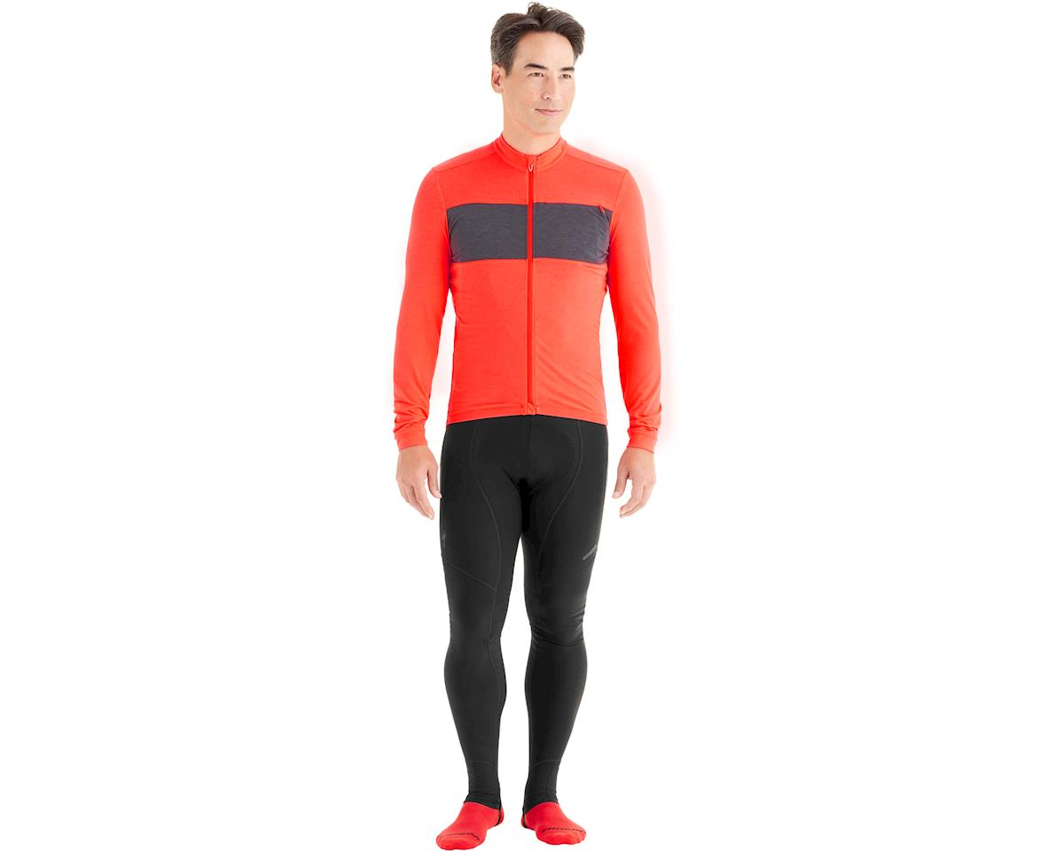 Specialized RBX Drirelease Merino Long Sleeve Jersey (Rocket Red Carbon) (S) 45e98bb30