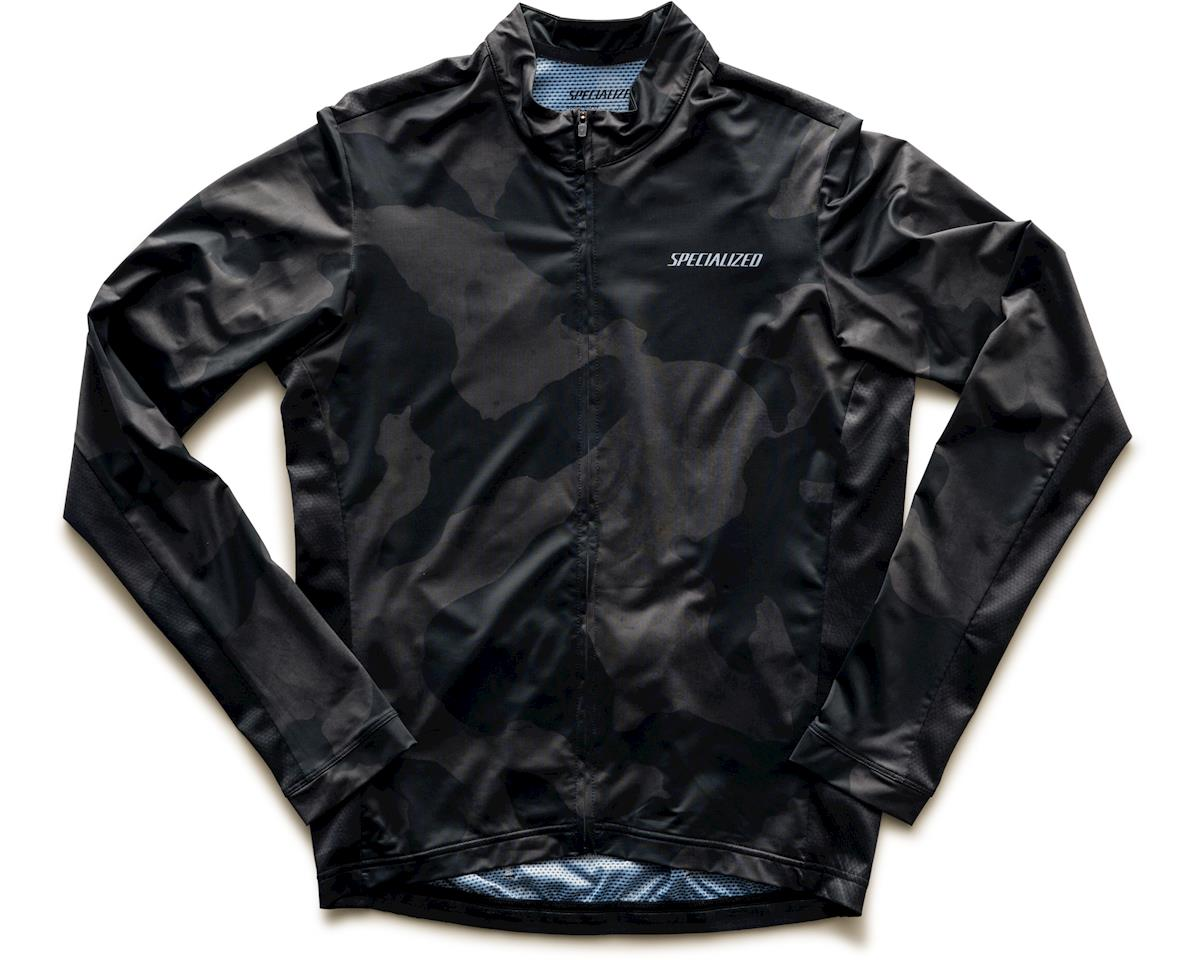 Specialized RBX Long Sleeve Jersey (Black/Charcoal Camo) (M)