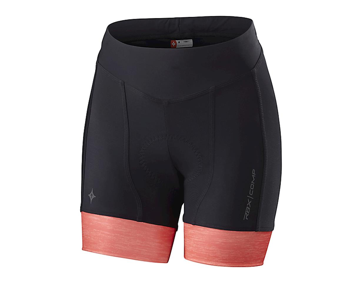 Specialized RBX Comp Women's Shorty Shorts (Black/Coral)