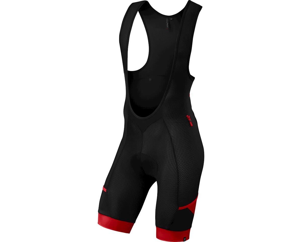 Specialized Mountain Liner Bib Shorts w/ SWAT (Black/Red) (2XL)