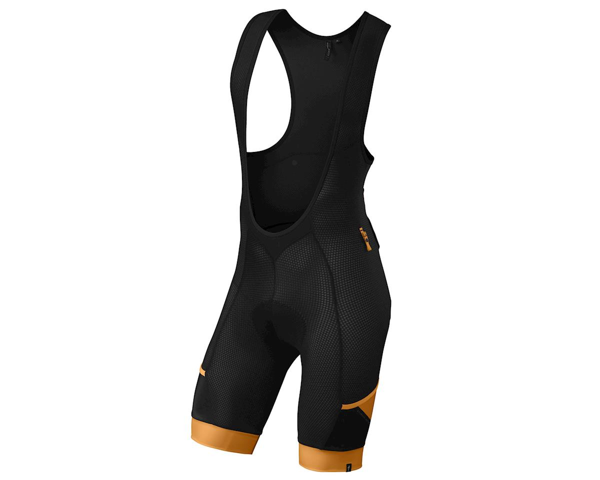 Specialized Mountain Liner Bib Shorts with SWAT (Black/Gallardo Orange)