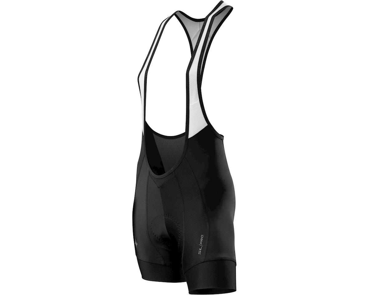 Specialized Women's SL Pro Shorty Bib Shorts (Black)