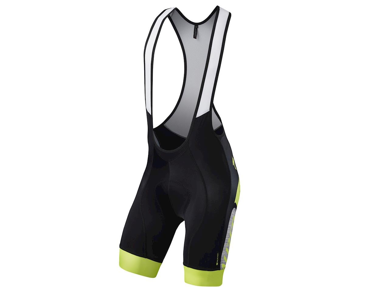 Specialized SL Expert Bib Shorts (Grey/Neon Yellow Team)