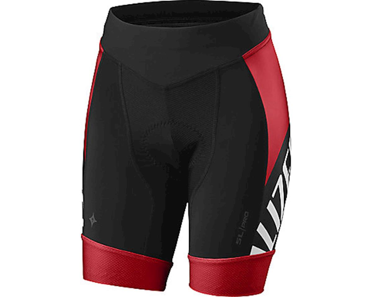 Specialized Women's SL Pro Shorts (Team Red/Black)