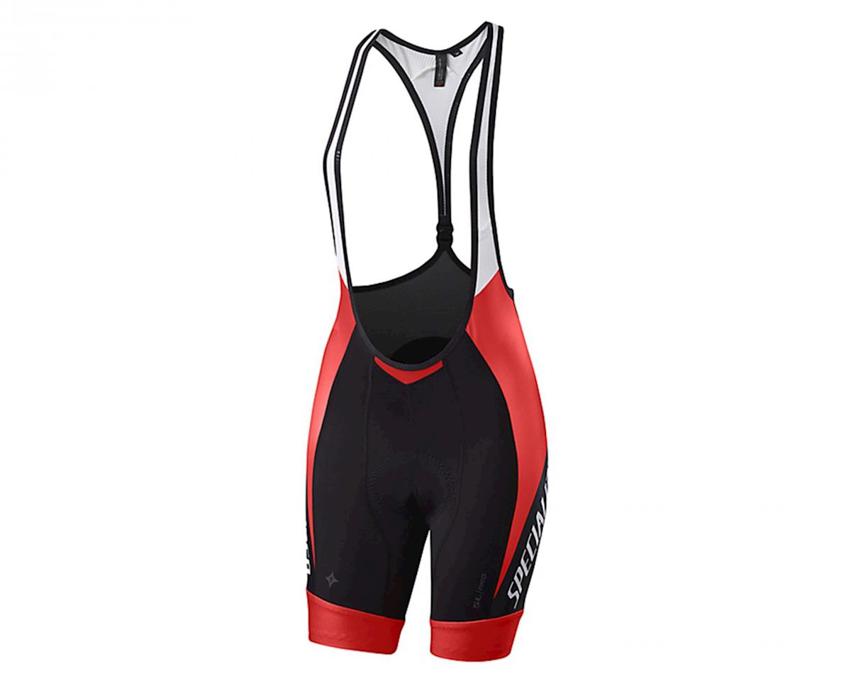 Specialized SL Pro Women's Bib Shorts w/ Hookup (Red/Black Team)