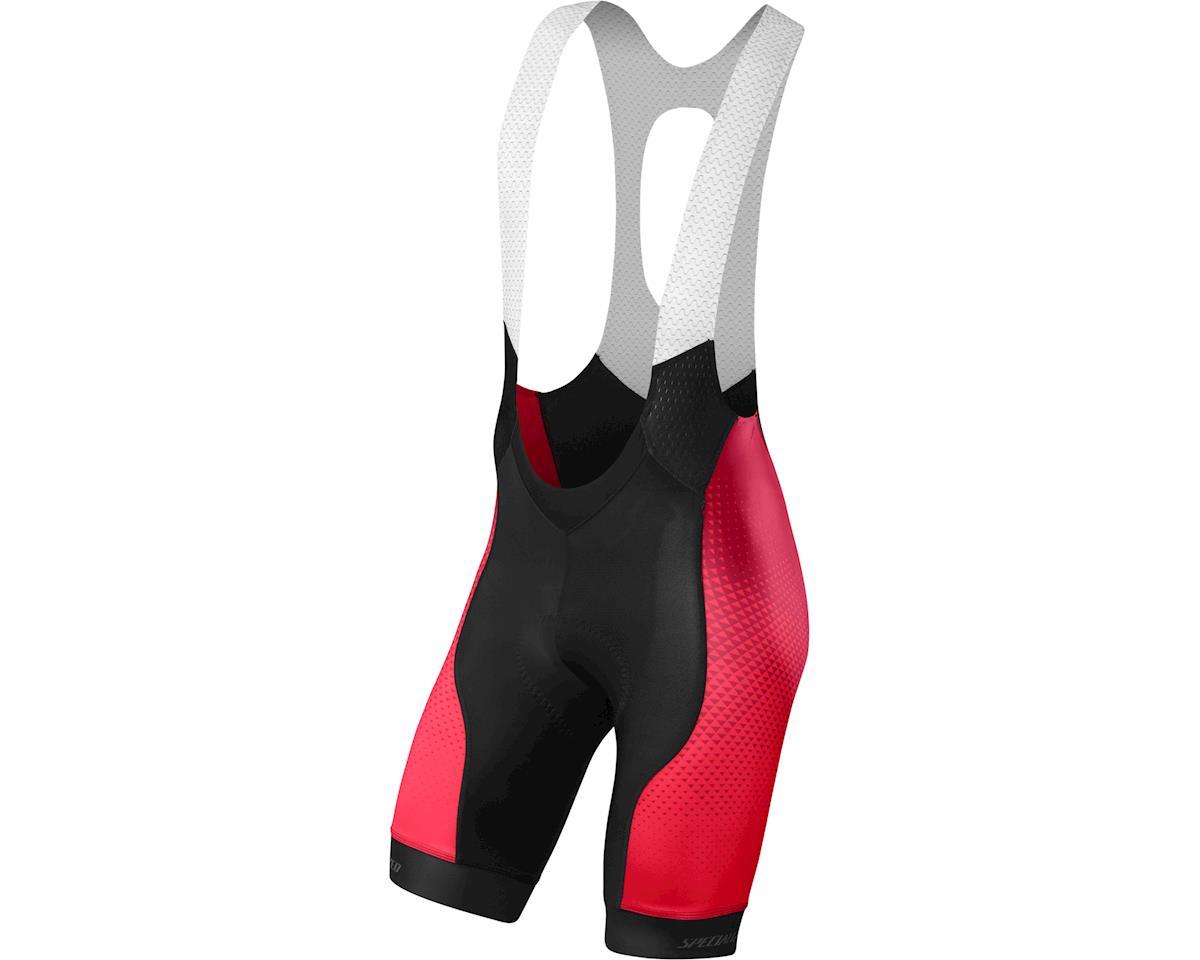 Specialized SL Pro Bib Shorts (RF Matrix/Team Red) (Small/Tall)