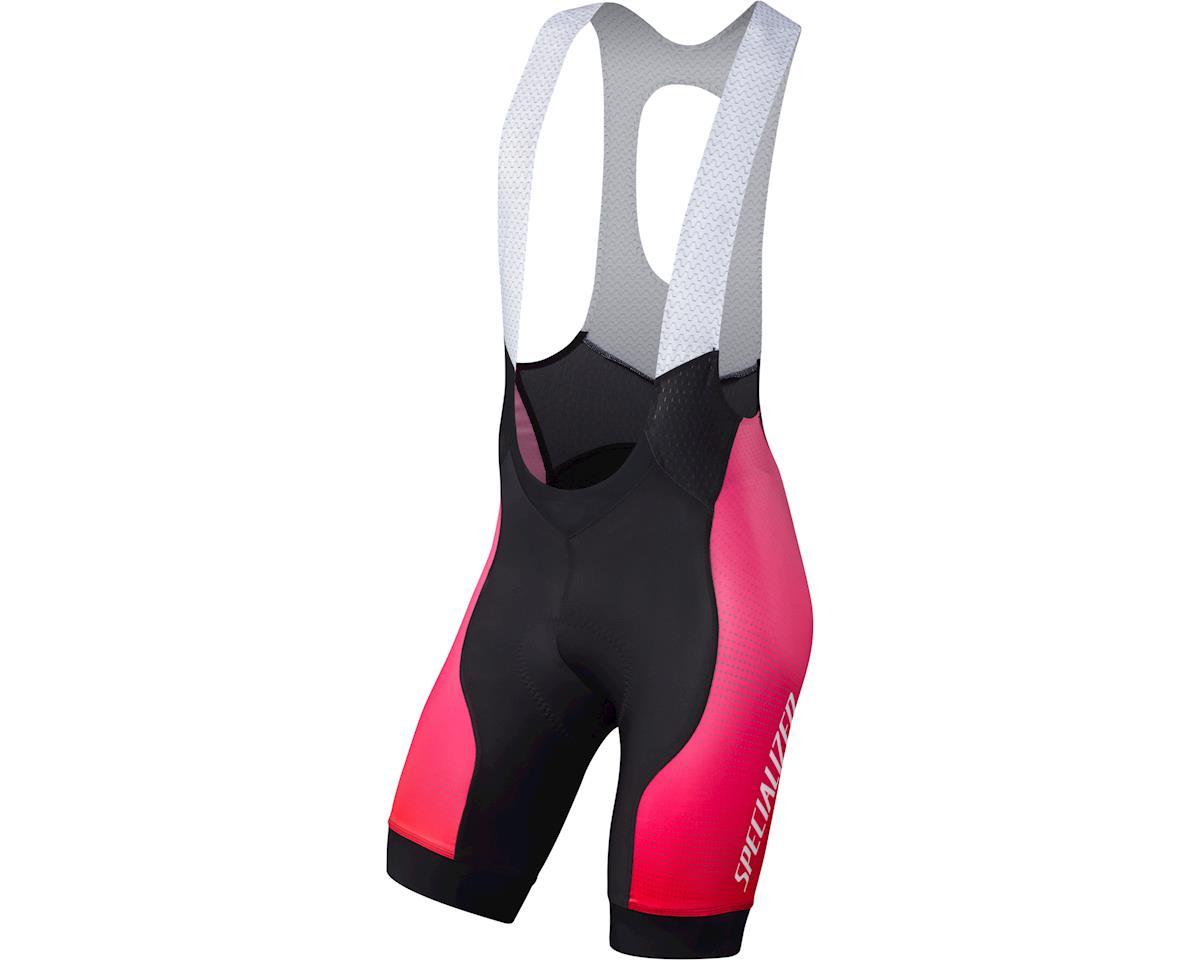 Specialized SL Pro Bib Shorts (Team Acid Fade) (Small/Tall)