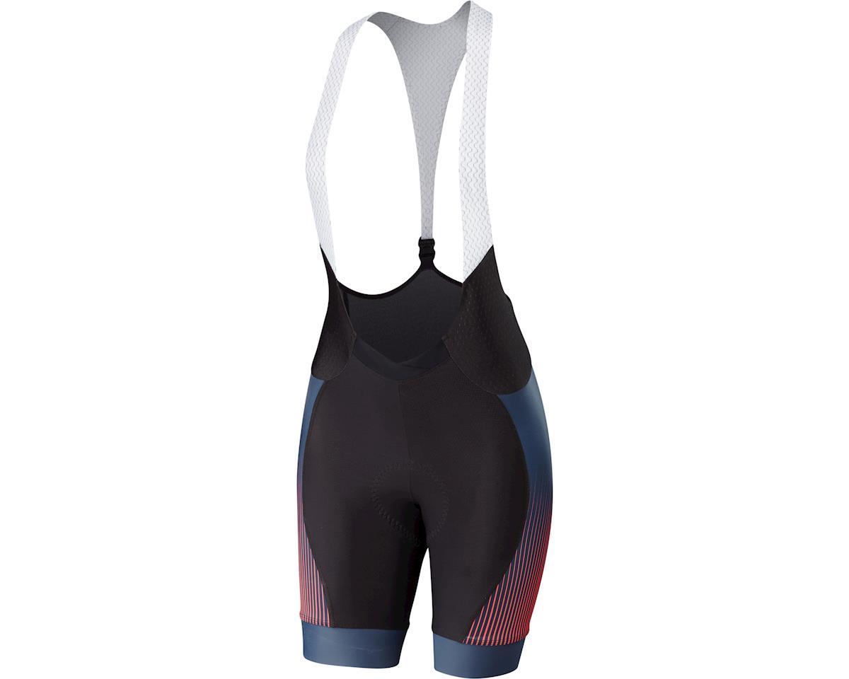 Specialized Women's SL Pro Bib Shorts (Line Fade/Acid Red)