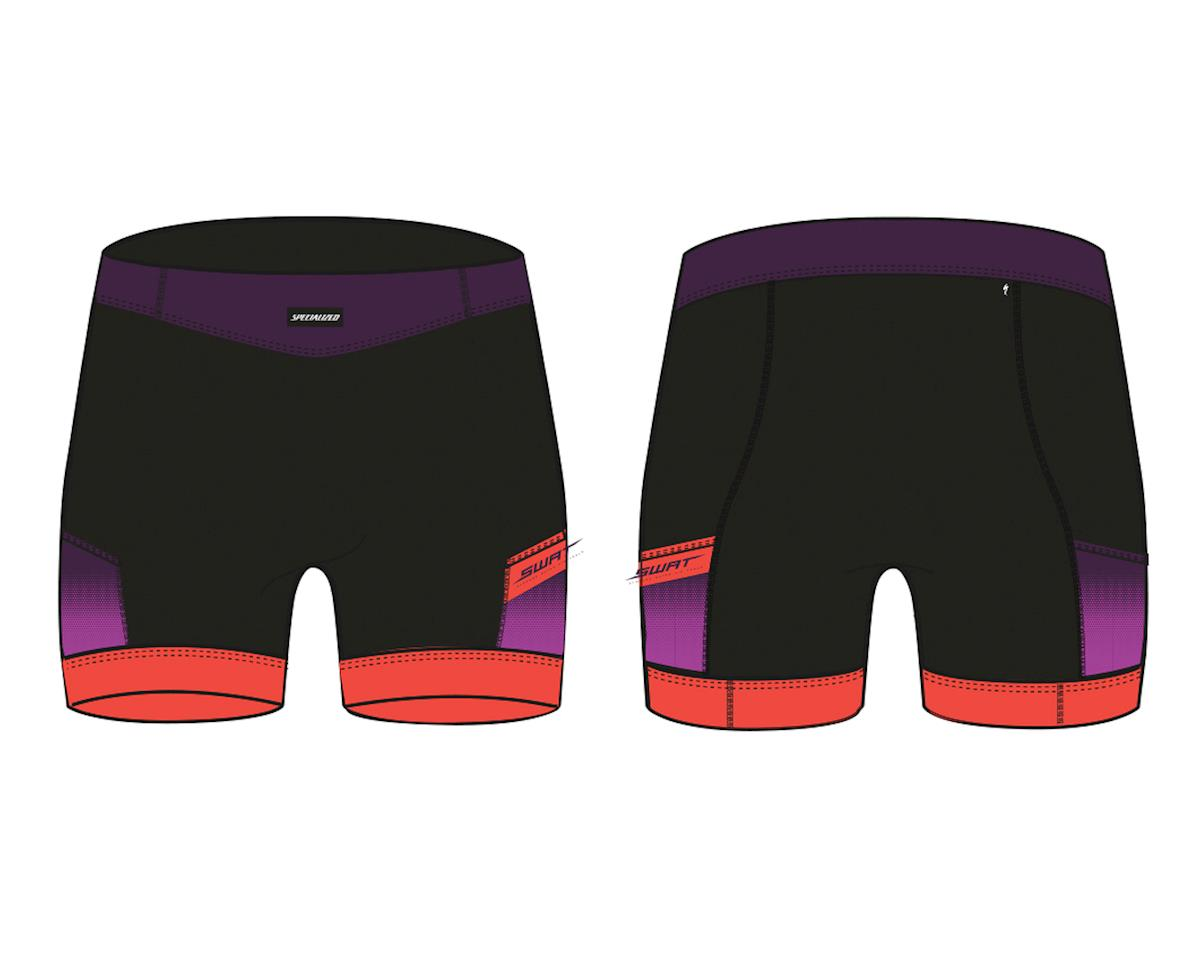 Specialized Women's Liner Shorts with SWAT (Cast Berry/Acid Lava Hex)