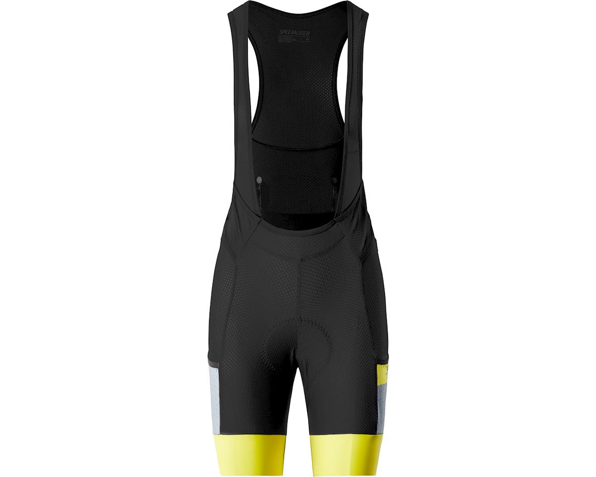 Specialized Women's Liner Bib Shorts with SWAT (Storm Grey/Ion Shuttle)
