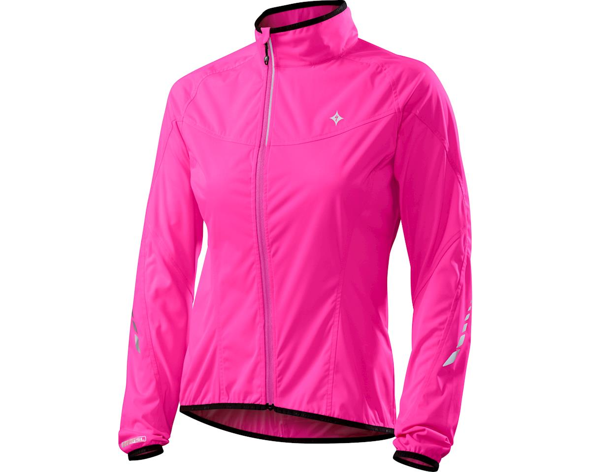 Specialized Women's Deflect SL Jacket (Neon Pink) (X-Small)
